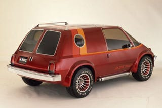 Illustration for article titled AMC had a subcompact turbocharged 4WD minivan concept in 1977: the AM-Van.