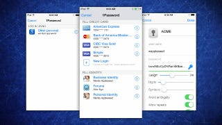 Illustration for article titled 1Password for iOS Gets Extension Improvements for Faster Logins