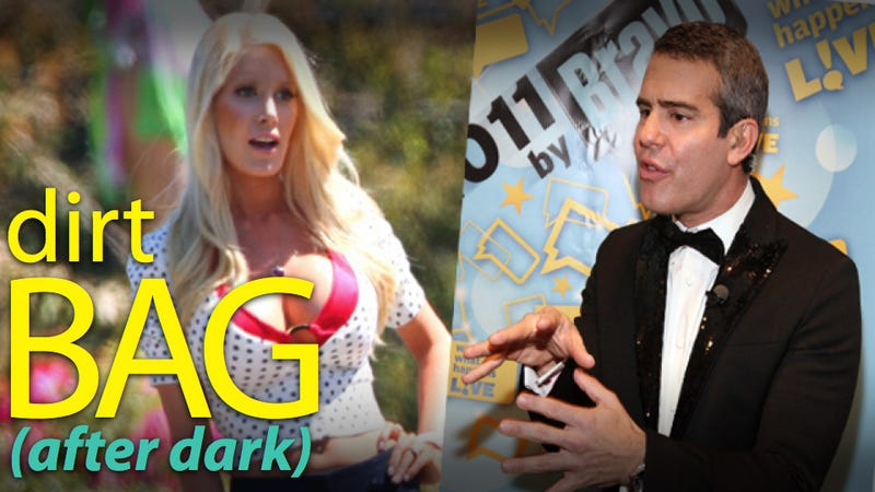 Illustration for article titled Heidi Montag & Bravo's Andy Cohen Feud Over Who's Bigger Reality TV Trash