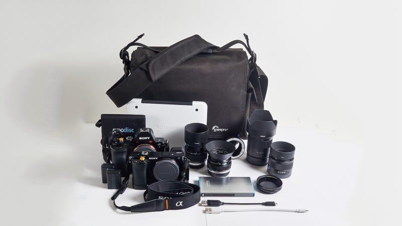 The Urban Photographer's Daily Bag