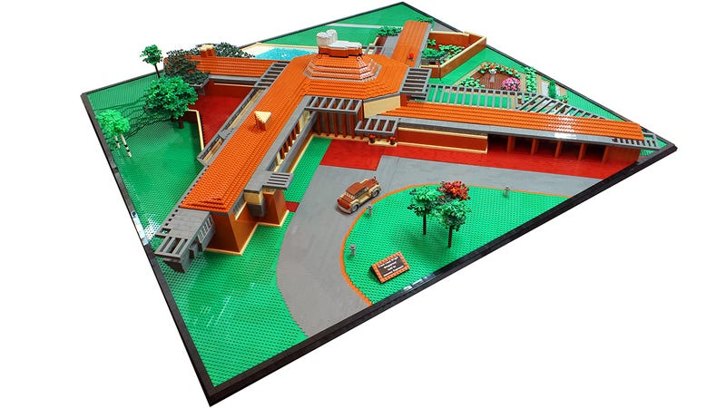 Illustration for article titled Another Frank Lloyd Wright masterpiece gets the Lego treatment
