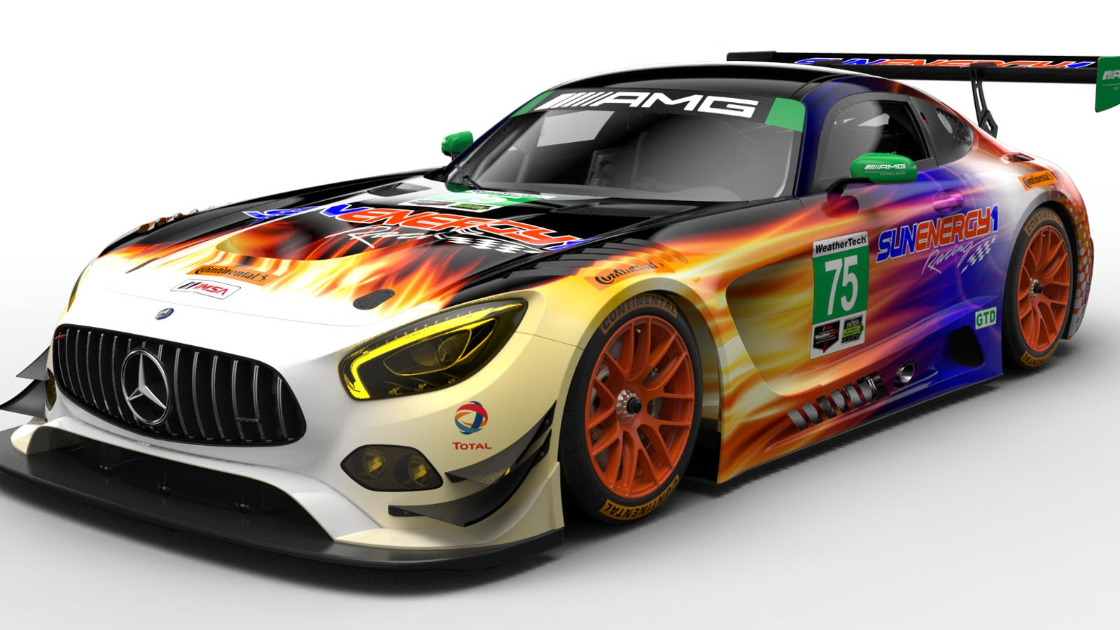 this mercedes amg gt3 is a pyromaniac 39 s dream car. Black Bedroom Furniture Sets. Home Design Ideas