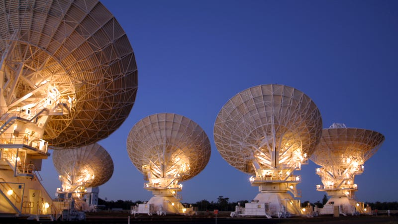 The Australia Telescope Compact Array. (Image: CSIRO)