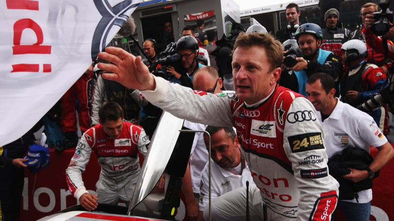 Illustration for article titled Le Mans Legend Allan McNish Is Done Racing