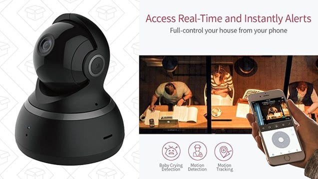Check In From Anywhere With This $32 Pan-and-Tilt Security Camera