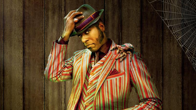 Image: Orlando Jones as Mr. Nancy (Starz)