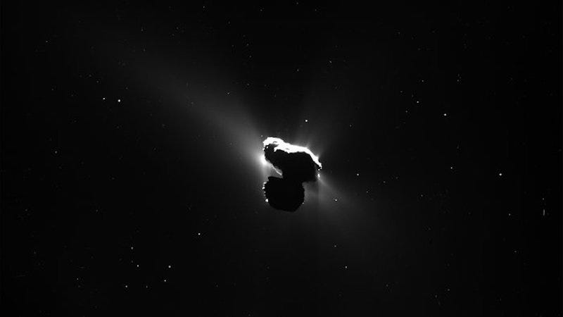 Rosetta catches a glimpse of 67P this Spring, from further back (Image: ESA)