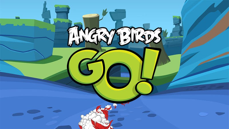 Illustration for article titled What The Heck Is Angry Birds Go!?