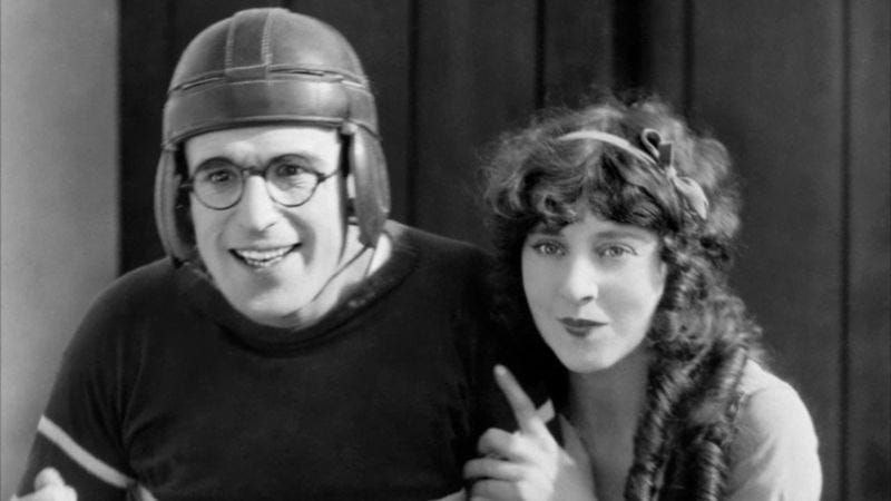 Illustration for article titled Criterion adds Harold Lloyd's campus comedy The Freshman to its collection