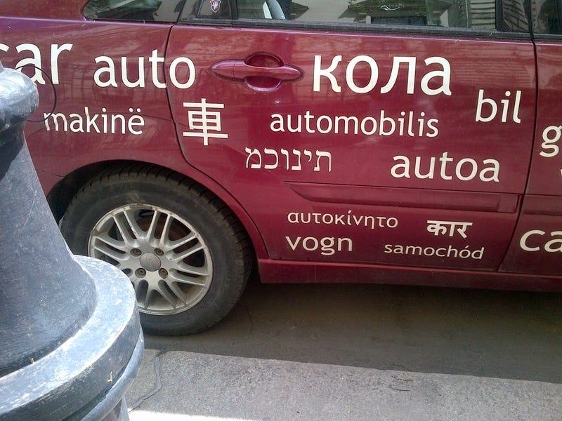 Illustration for article titled A saját autójára is hülyeséget írt héberül az OFFI
