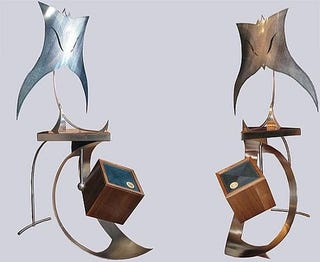 Illustration for article titled Opere Sonore Speakers Look Like a $263,000 Ode To Spawn