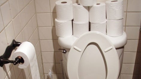 Please Don't Use Cloth Toilet Paper