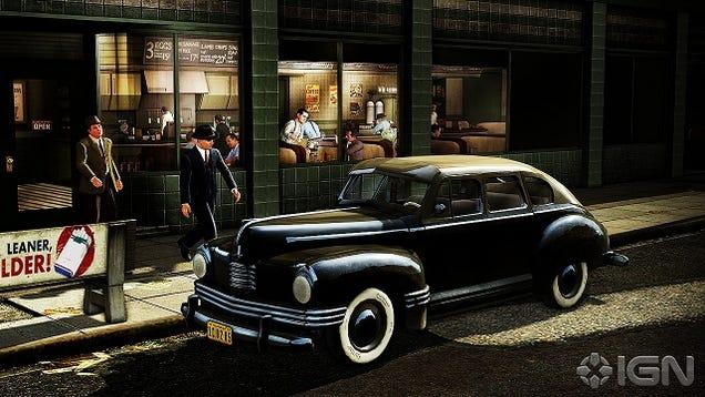 The cars of l a noire for Garage n4 auto duppigheim