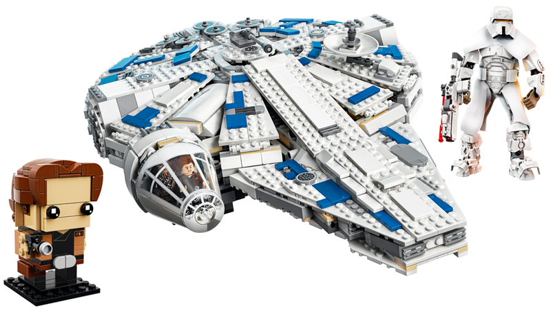 Lego's Solo: A Star Wars Story sets, ranging from little to large. Very, very large.