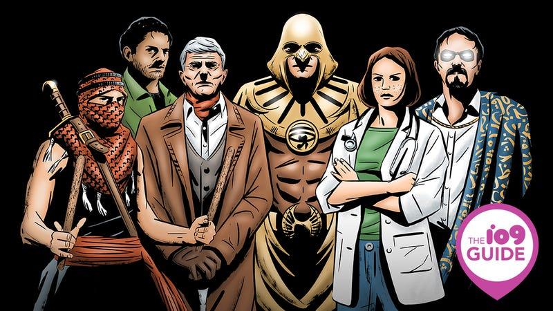 Egyptian superheroes from El3osba.