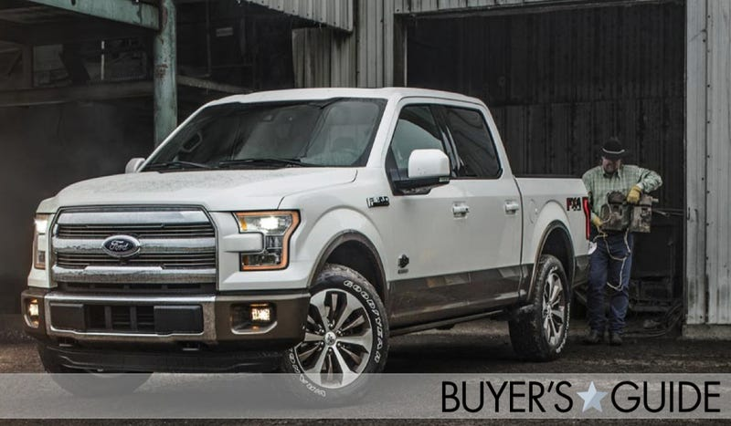 Illustration for article titled Ford F-150: The Ultimate Buyer's Guide
