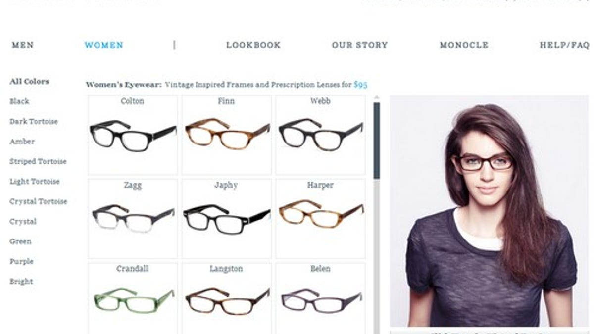 Try On New Glasses in Warby Parker\'s Virtual Booth