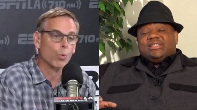 Illustration for article titled Colin Cowherd's And Jason Whitlock's All Takes Matter Is Going To Be A Goddamn Hour Long