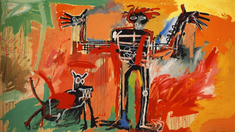Illustration for article titled Chid-Michel Basquiat? Chid-Michel Basquiat.