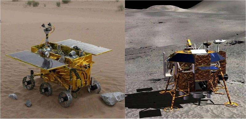 Illustration for article titled Así es la primera sonda China que aterrizará en la Luna