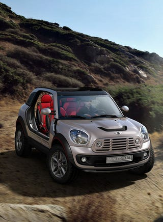 Illustration for article titled Mini Beachcomber Concept Previews Mini Crossman SUV