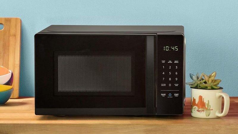 AmazonBasics Microwave With Alexa | $42 | Amazon