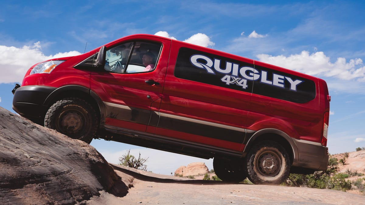 Check Out The First Ford Transit Van To Try Off Roading In Moab