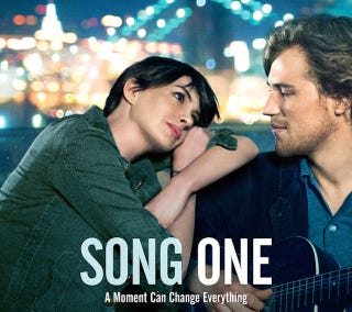Illustration for article titled Anne Hathaway Falls for a Brooklyn Folk Singer in Song One Trailer