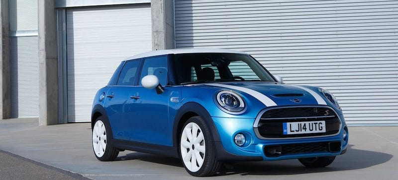 Illustration for article titled The 2015 Mini Cooper '4 Door' Will Start At $22,300