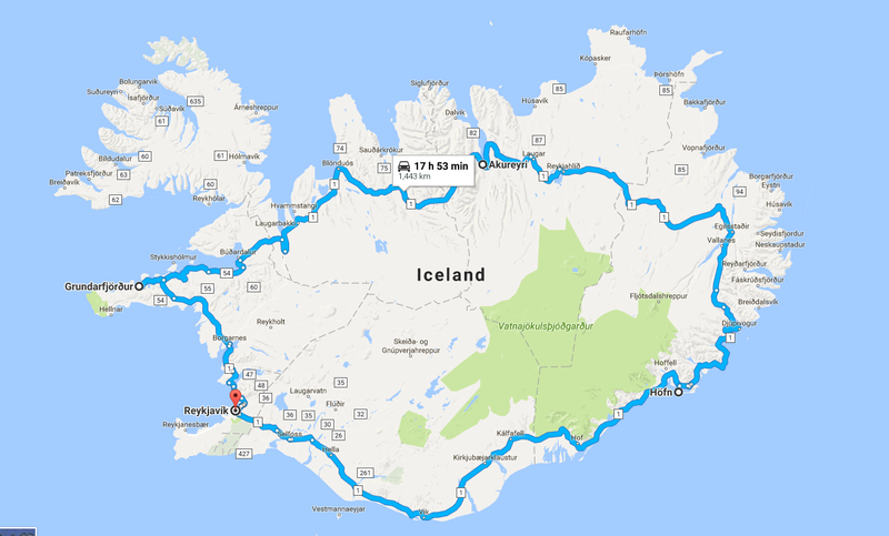 Illustration for article titled Iceland Roadtrip Planning