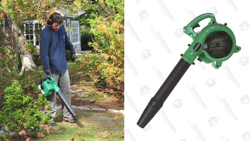 Hitachi Gas-Powered Leaf Blower | $97| Amazon