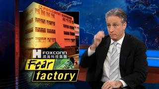 Illustration for article titled Jon Stewart Tears Down Foxconn