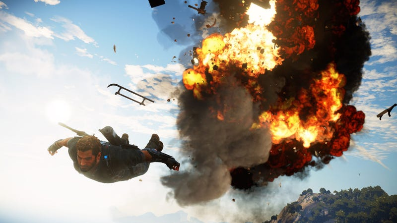 Illustration for article titled Just Cause 3: The Biggest Bang Your Buck Can Buy