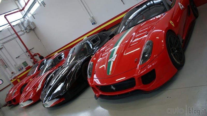 Illustration for article titled Ferrari FXX Corse Clienti gallery