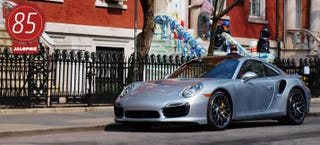 Illustration for article titled 2014 Porsche 911 Turbo S: The Jalopnik Review