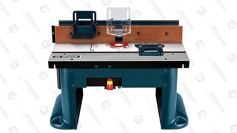 Mesa de trabajo Bosch | $149 | AmazonGráfico: Shep McAllister