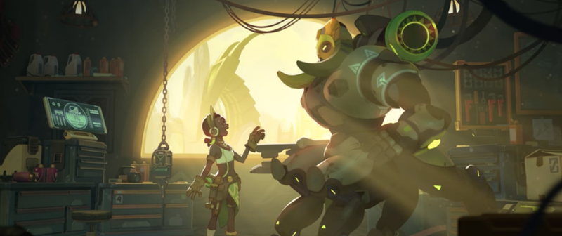 Illustration for article titled The Internet Reacts To Orisa, Overwatch's Latest Hero