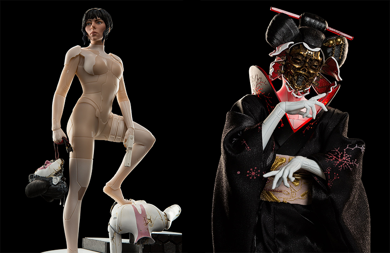 Illustration for article titled The Ghost In The Shell Movie Has Some Very Expensive Statues