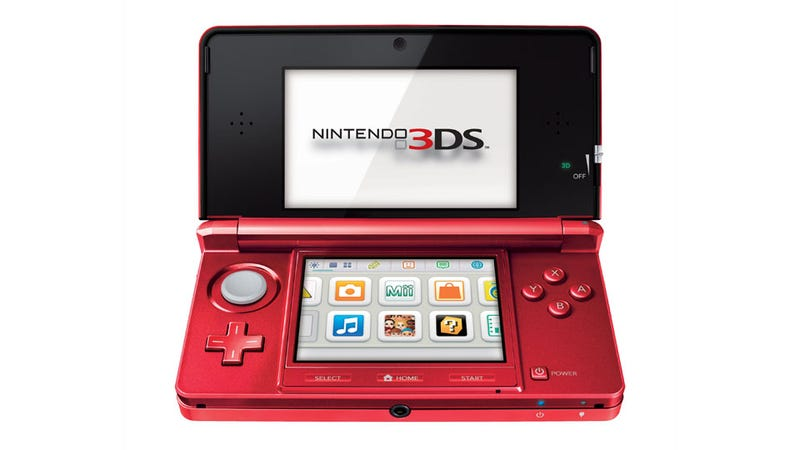 Illustration for article titled The 3DS Now Comes in Red