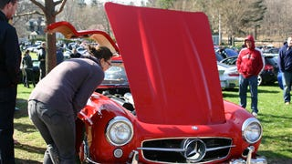 Cars and Coffee Boston Larz Anderson