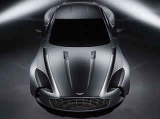 Even Though Weve Been Teased By The Aston Martin One 77 Via Renders Videos And A Positively Evil Skirt Lifting At The Paris Motor Show We Havent Seen