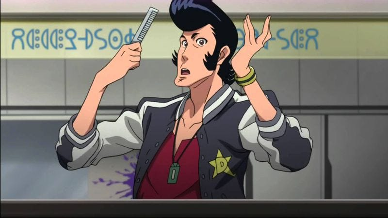 space dandy is more than cowboy bebop s demented little brother