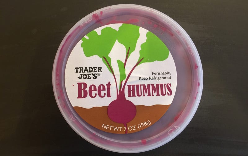 Illustration for article titled Bougie Food Review: Beet Hummus