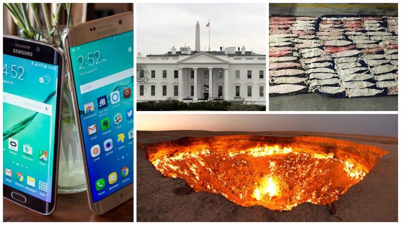 Las puertas del infierno, peces afrodisíacos y Donald Trump. Lo mejor de la semana