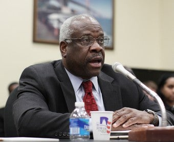 Illustration for article titled Clarence Thomas's Ex Speaks Out About His Harassing Habits