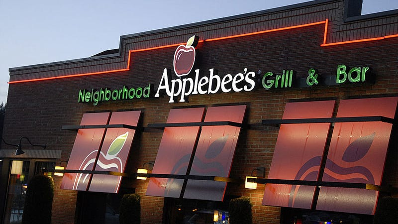 Illustration for article titled Applebee's working on a new app for those who need Applebee's right freaking now