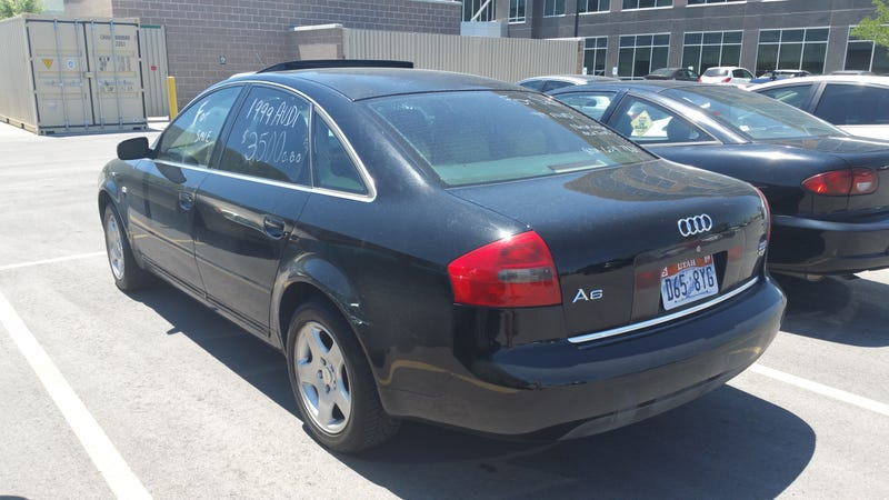 Illustration for article titled Someone is selling their Audi! Oh boy! But wait...