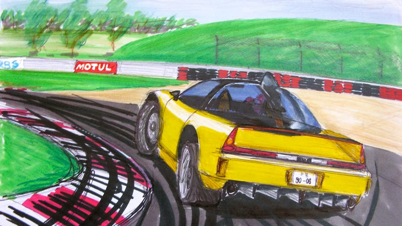 Illustration for article titled What to do with an Acura NSX not decaying in Dubai