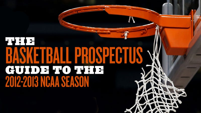 Illustration for article titled 100 Thoughts About 100 NCAA Teams From The Basketball Prospectus Guide To The 2012-13 Season