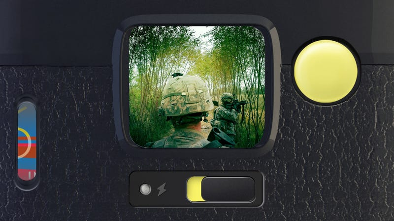 Illustration for article titled Why a War Photographer Shot an Award-Winning Photo With a $2 iPhone App